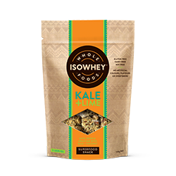 IsoWhey Wholefoods Superfood Snacks - Kale + Lime