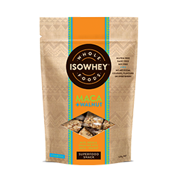 IsoWhey Wholefoods Superfood Snacks - Maca + Walnut