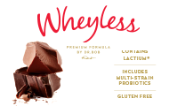 Wheyless Double Chocolate Sachet 32g x10