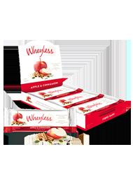 Wheyless Fibre Bar - Apple & Cinnamon 450g (10 x 45g pack)