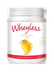 Wheyless Mango Smoothie Flavour 640g