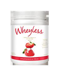 Wheyless Strawberries and Cream 640g
