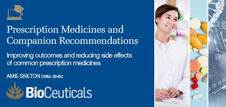 Prescription Medicines and Companion Recommendations