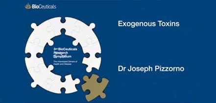 Exogenous Toxins, Dr Joseph Pizzorno