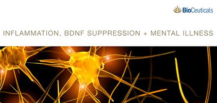 Inflammation, BDNF Suppression + Mental Illness