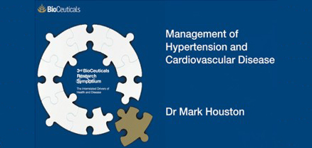 Management of Hypertension and Cardiovascular Disease, Dr Mark Houston