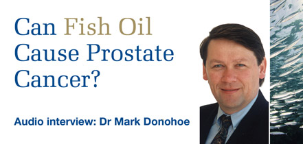 Can fish oil cause prostate cancer?