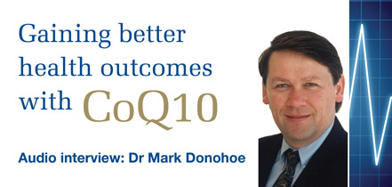 Talking CoQ10 with Mark Donohoe