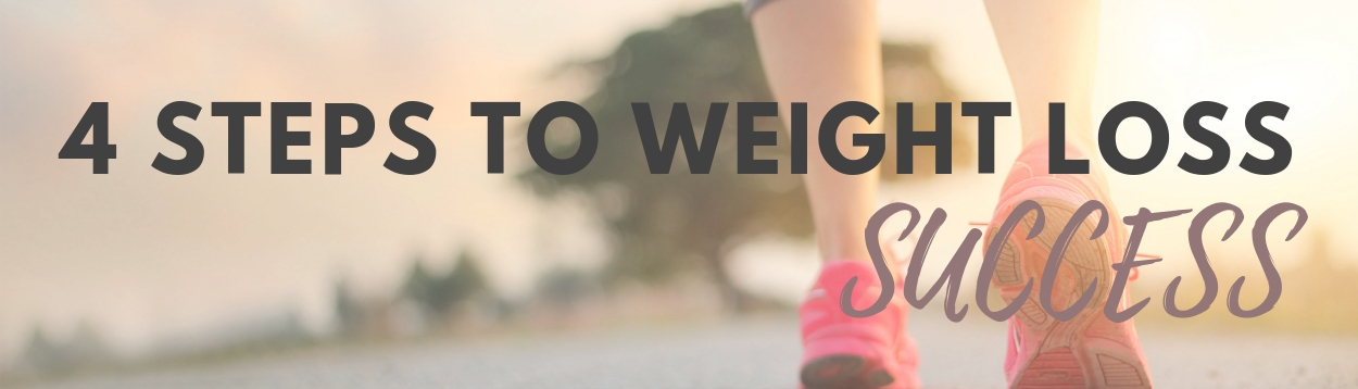 4 STEPS TO WEIGHT LOSS SUCCESS