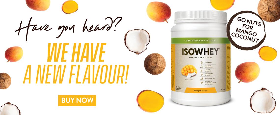 IsoWhey Mango Coconut