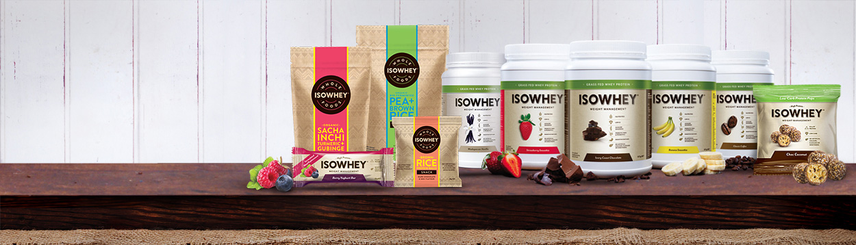 IsoWhey Products