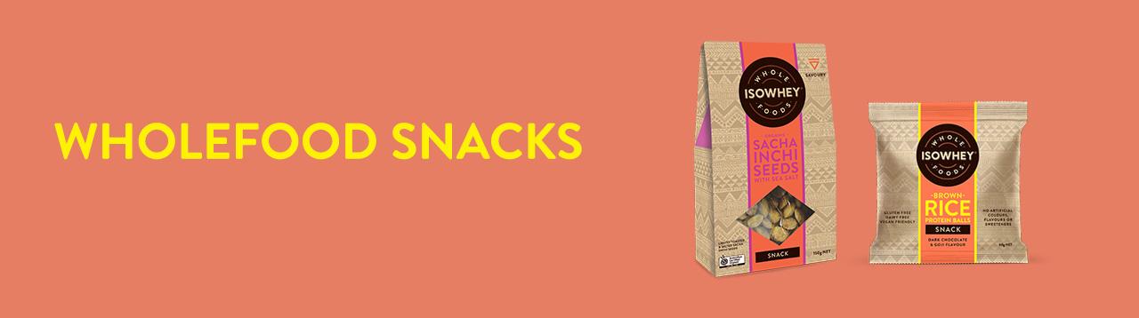 IsoWhey Wholefoods Snacks