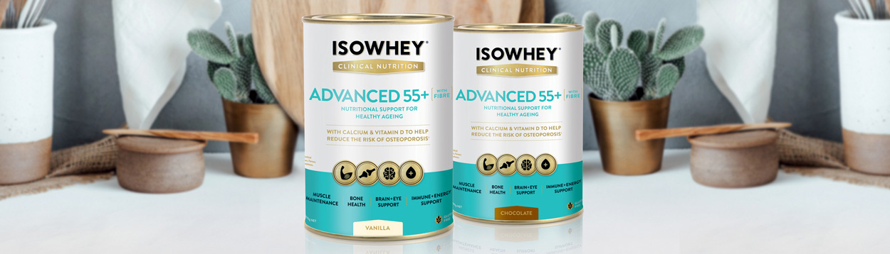 IsoWhey Clinical Nutrition product range