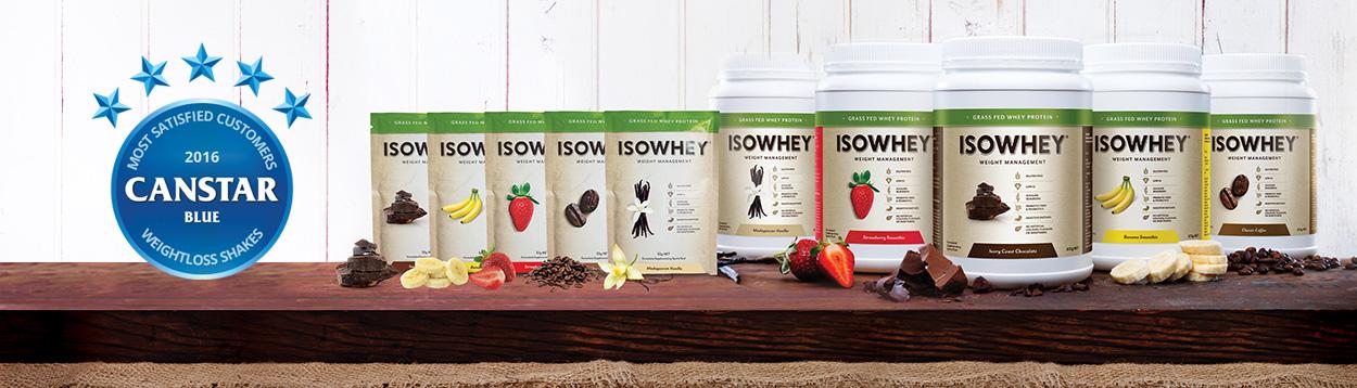 IsoWhey Shakes