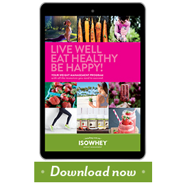 Download the IsoWhey® Healthy Living e-book