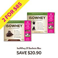 IsoWhey 21 Sachets/Box