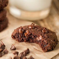 Double Choc Hemp Cookies photo