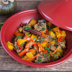 One-pot Moroccan lamb photo