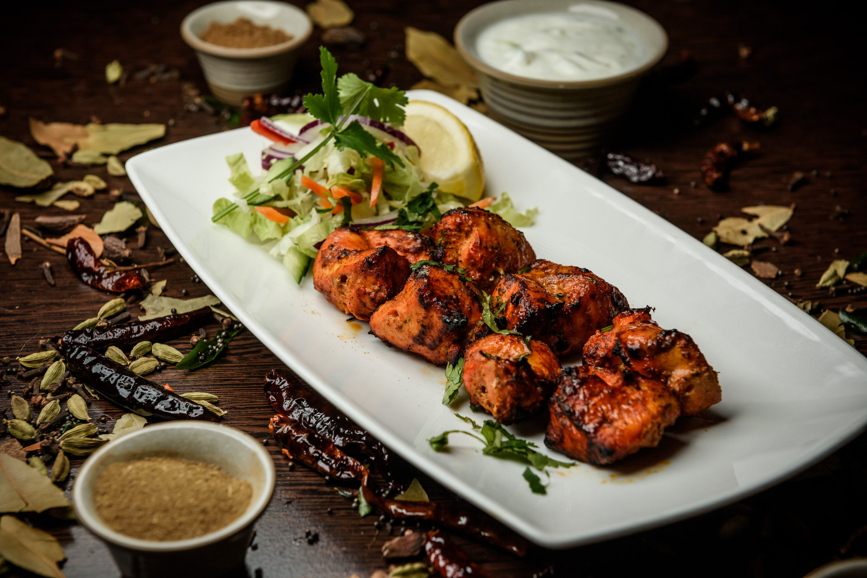 Chicken tikka photo