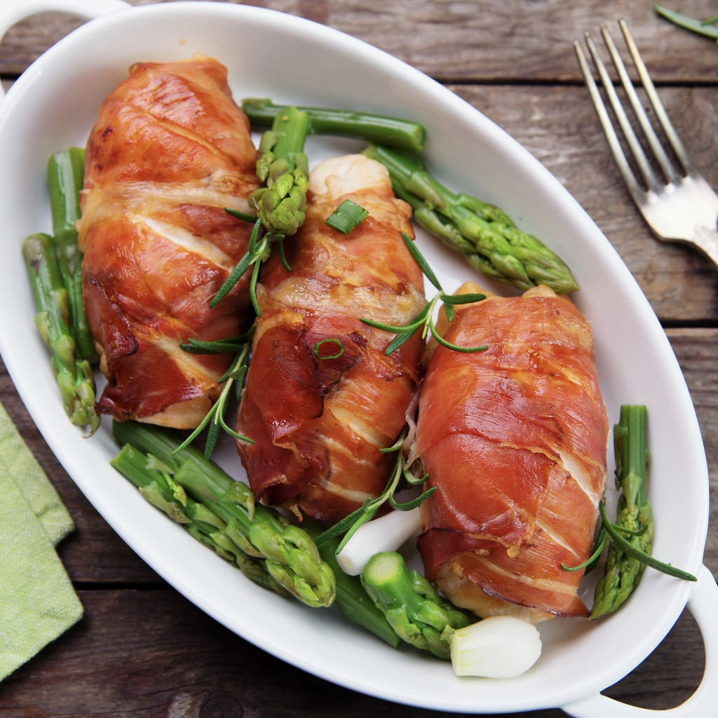 Italian-style rolled chicken photo