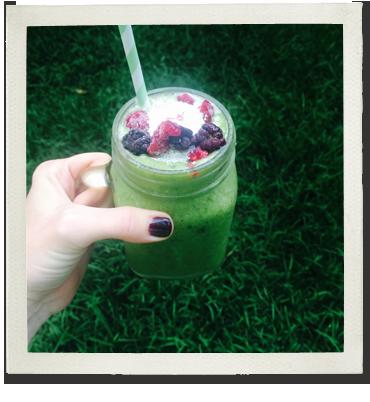 LGF Green Breakfast Smoothie photo