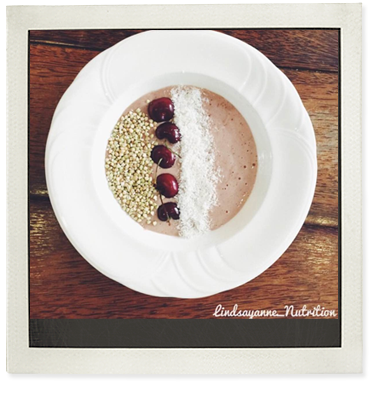 IsoWhey 'Cherry Ripe' Smoothie Bowl photo