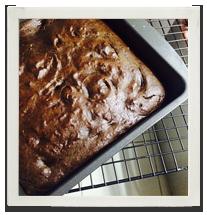 High Protein Choc Chunk Chocolate Cake photo