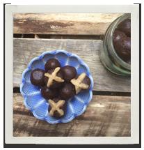 Hot Cross Chocolate Bliss Balls photo
