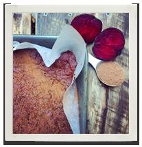 Fudgey Cacao & Beetroot Superfood Brownie photo