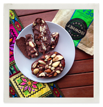 Raw Artisan Chocolate Filled with Decadent Protein Mousse photo