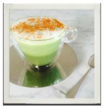 Vanilla Matcha Latte photo