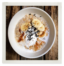 Coconut & Sesame Porridge photo