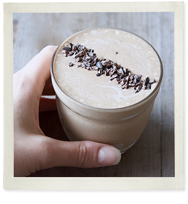 A Healthier Chocolate Thickshake photo