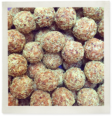 Tropical Turmeric Protein Balls photo