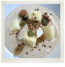 Gut Strengthening Mocha Maca and Sacha Inchi Protein Pudding photo