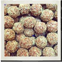 Tropical Turmeric Protein Balls photo