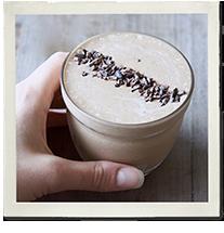 A Healthier Chocolate Thickshake photo