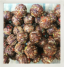Raw Superfood Cacao Bliss Balls photo