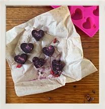 Superfood Chocolate Velvet Hearts photo
