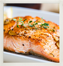 Grilled Atlantic Salmon photo