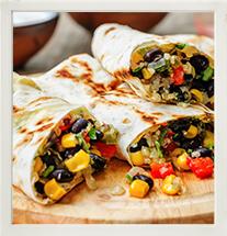 Mixed Bean Wraps photo