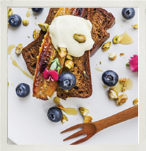 IsoWhey protein-rich banana bread photo