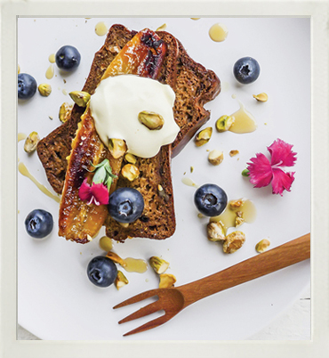 IsoWhey protein-rich banana bread photo