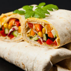 Mixed Bean Wraps photo