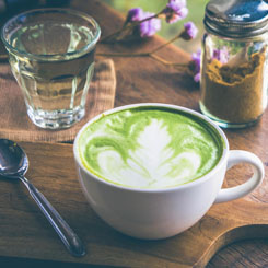 Vanilla Matcha Latte photo